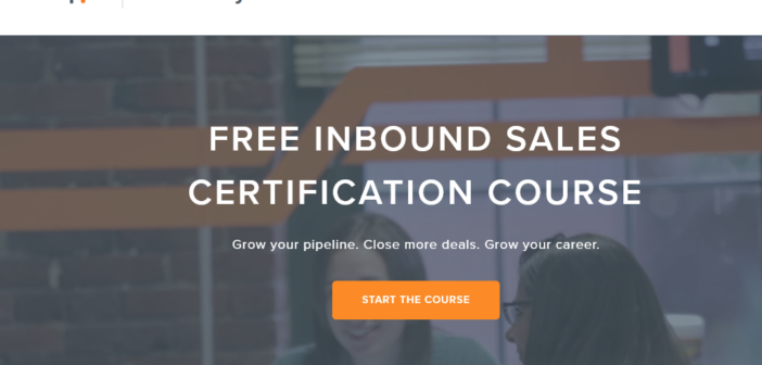 content marketing course from Hubspot