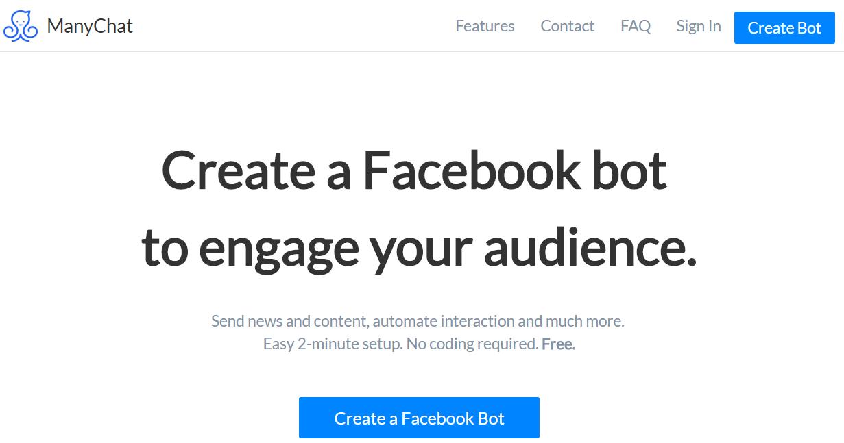自動化工具之一 Facebook bot