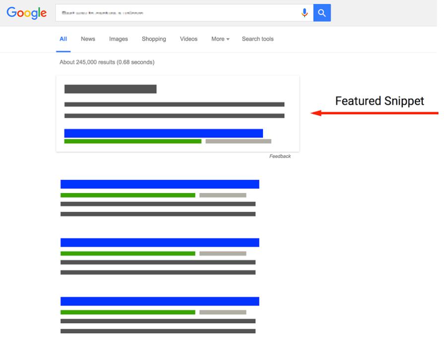 Google Featured Snippet 能幫助語音搜尋