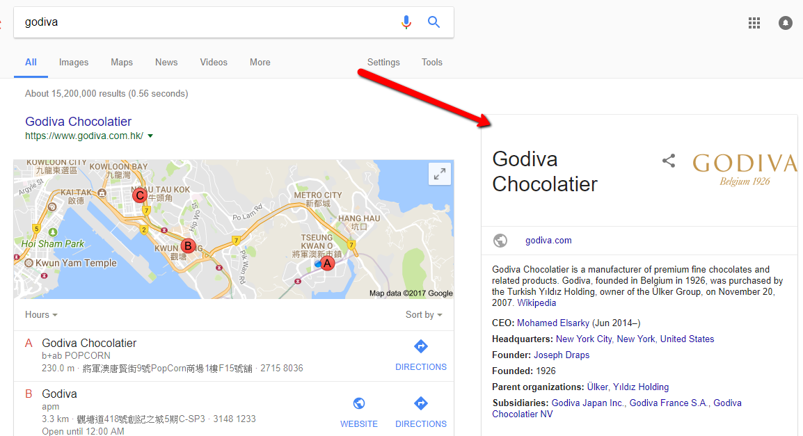 google business listing for seo