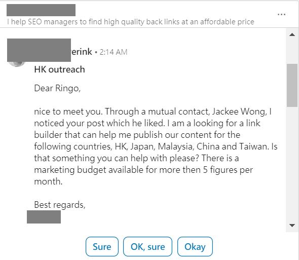 backlink outreach in Hong Kong